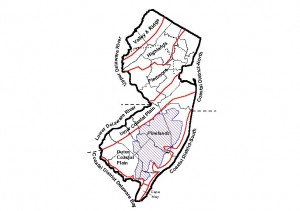 Vegetation and Physiography of NJ